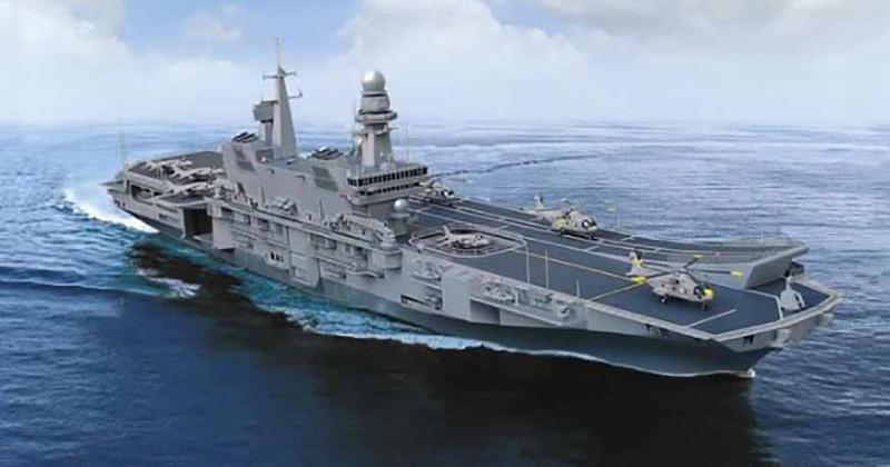 La portaerei Cavour sbarca a Bari: visite gratuite nel weekend